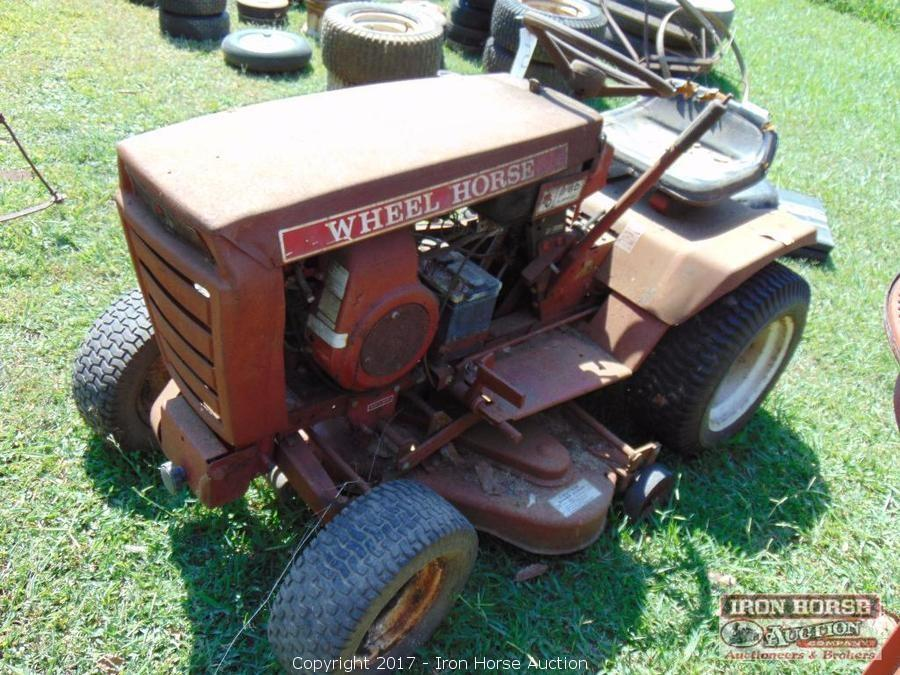 Iron Horse Auction - Auction: Van, Tractor, Woodworking