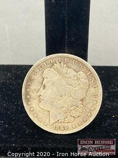 1889 Morgan Silver Dollar Mint Mark O