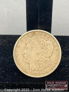 1921 Morgan Silver Dollar Mint Mark S