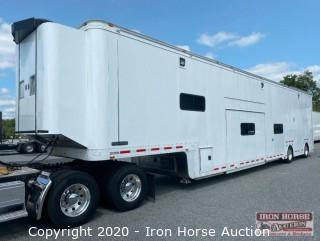 2006 53 ft Featherlite Custom Three Office Hauler Trailer with Restroom  (click camera icon below for walk through video)