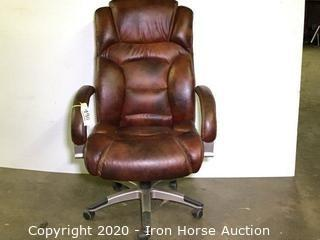 Executive office chair, swivel base