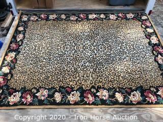 Wild Safari Beige 6x9 rug Size: 5ft 5in x 7ft 10in