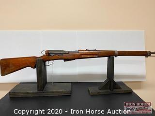 Schmidt Rubin 1911 Bolt Action 7.5x 55mm