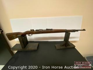 German Model 98 Bolt Action. 8mm