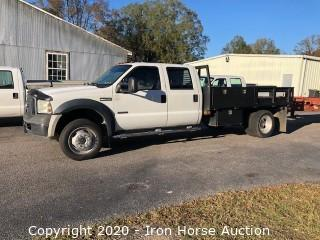 2007 Ford F450 XL Super Duty Crew Cab Truck