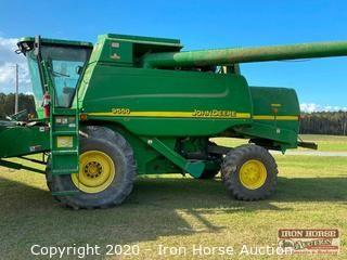 2002 John Deere 9550 Combine (Header Not Included)