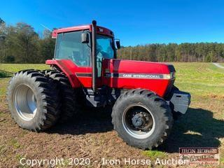 1990 Case 7130 Enclosed Cab 4x4 Tractor