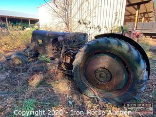 Huber Road Scraper/Grader Tractor
