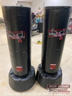 (2) Wavemaster XXL Century Pro Kickboxing Bags