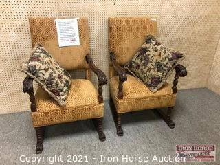 (2) Arm Chairs