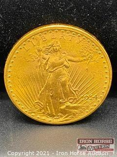 1914-S St Gaudens $20.00 Gold Coin