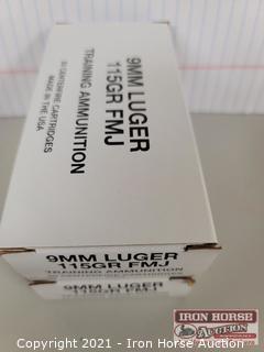 2 Boxes 9MM Luger 115 Grain FMJ (2x money)