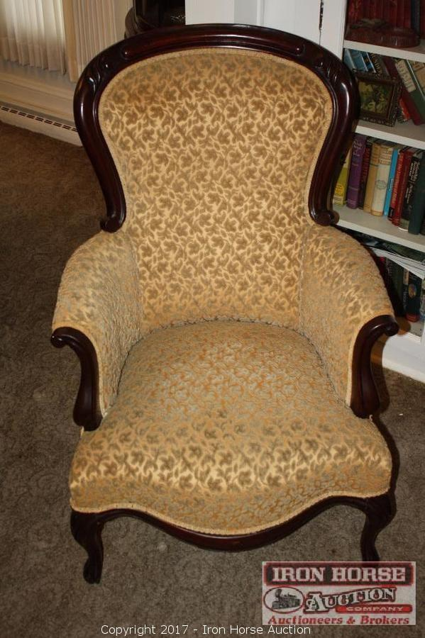Victorian Parlor Chair.