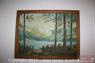 Original Painting on Canvas.