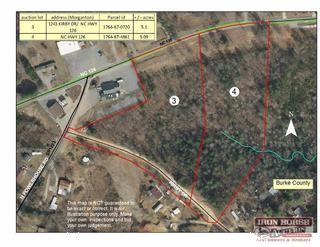 5.09+/- Acres on NC Highway 126 in Morganton, NC