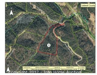 10.085+/- Acres on Heartwood Forest Drive and Black Hills Drive in Collettsville, NC