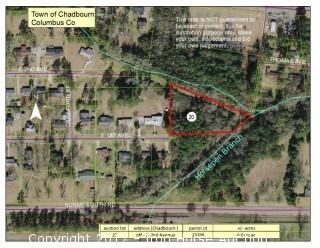 6+/- Acres off E. 2nd Avenue in Chadbourn, NC