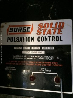 Surger Solid State Pulsation Control Box and HDS DeLavel Control Box