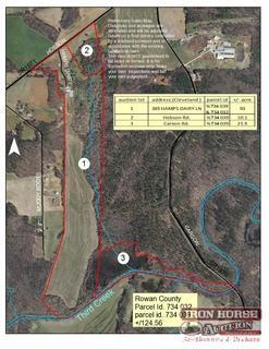 21.5+/- Acres on Carson Road in Cleveland, NC