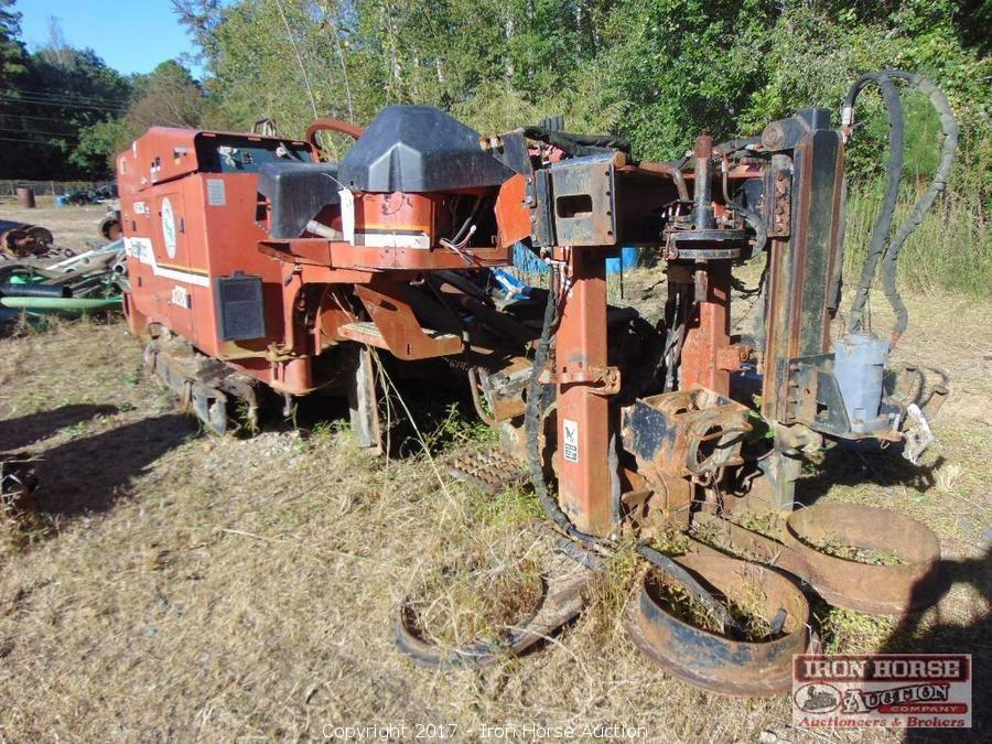 iron horse auction auction auction of working drills backhoes rh ironhorseauction info  ditch witch jt2720 parts manual